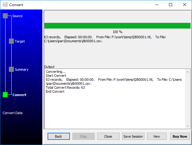 convert RDF file to Csv file - convert to Csv file