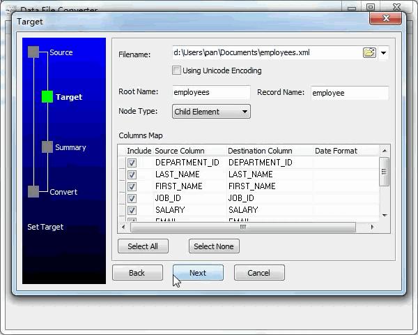 convert Json file to Xml file - config Xml file