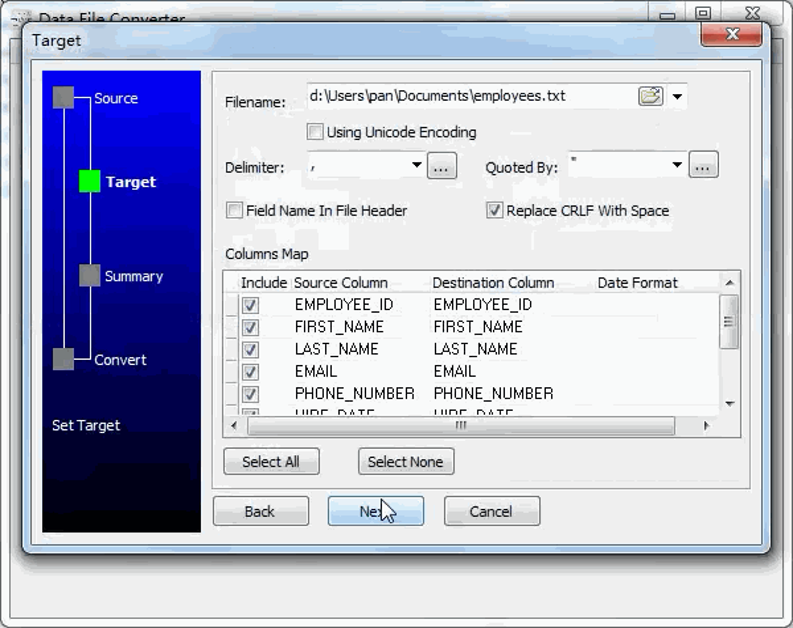 convert Xml file to Txt file - config Txt file