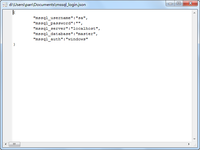 convert INI file to Json file - view  Json file