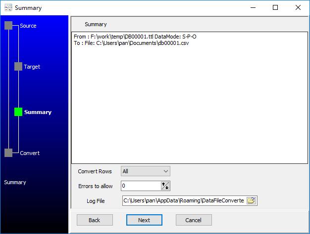 convert RDF Turtle file to Csv file - summary