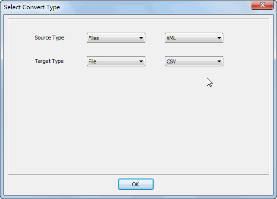 Merge multiple Xml files into one Csv file - select type