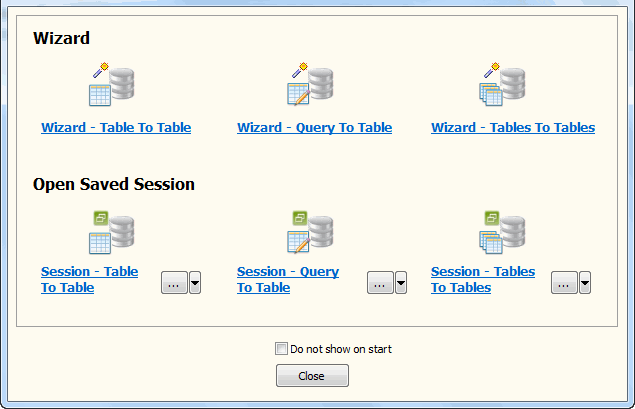 Batch copy data from one DB2 tables to another DB2 - Task Window