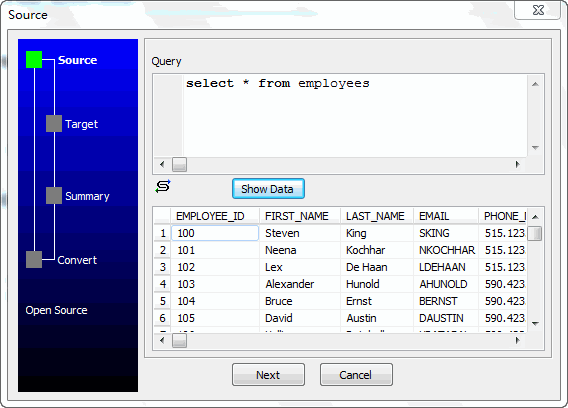 Unload data from Access Query Resultset To Excel File - select query
